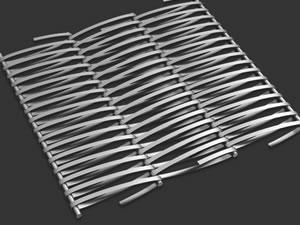 Lưới băng tải đan chữ X